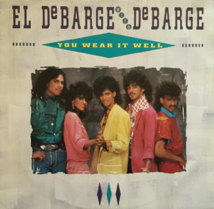 "El DeBarge With DeBarge - You Wear It Well (12"") (EX/VG)"